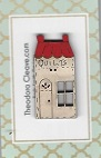 French quilt house red roof