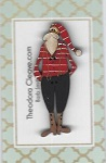 25th Santa 6cm tall