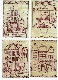 Set of 4 Maisons #1
