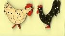 Chook & rooster set