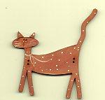 Dusky Pink big spotted cat