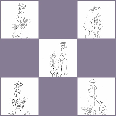 Lavender Lady  All 5