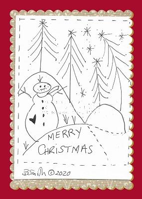 Snow Fields stitchery Illustration