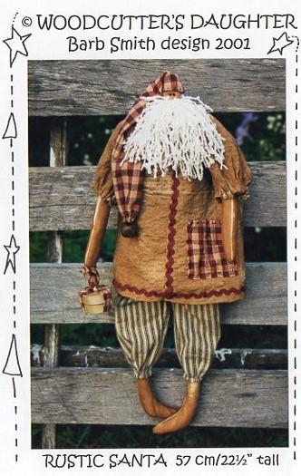 Rustic Cloth Santa Pattern