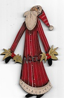 Santa Noel decoration 12cm