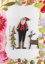 Country Santa, Bendy tree & deer