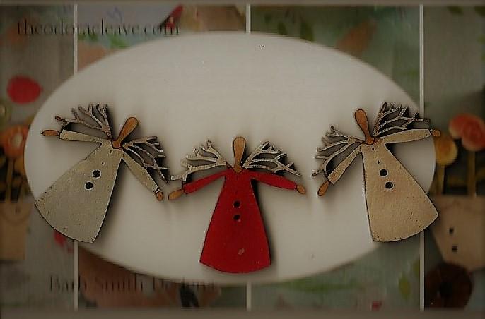 Twig angels Mini set 3