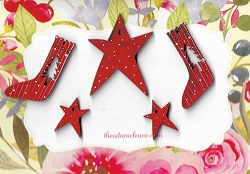 Stockings & Stars ( 1 ONLY)