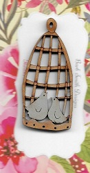 Rustic Bird cage 55mm