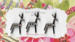 Donkeys small 25mm set 3