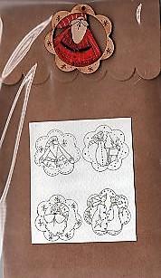 Santa ho ho ho & Co Brown Bag designs