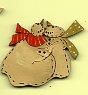 Hugs Snowfolk Button 3.4 cm