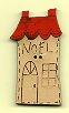 Noel House Button 4.5cm