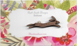 Bunny Leaping Chocolate 4 cm