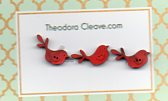 FlyingBirdies set 3 red