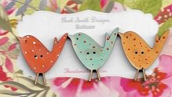 Birdies ( 27mm) Brilliant colours