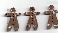 Gingerbreads x 3