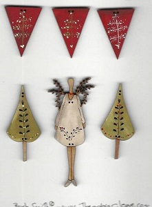 Christmas Button Pack #2