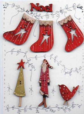 Santa hangs the boots story