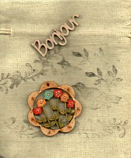 Small Bag & mini Flower decoration & bonjour