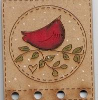 Bird ( red) thread keeper