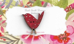 Birdy Red spots 27mm