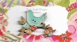 Bird Blossom ( Brilliant blue )