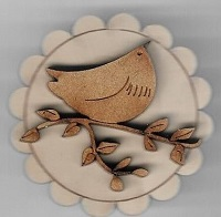 Bird Brooch #15