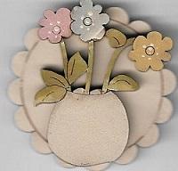 Flower Brooch #11