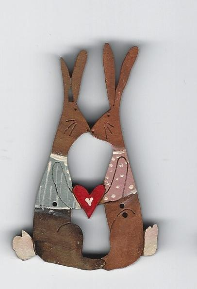 Big Bunny Loves with Jackets 6cm
