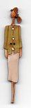 Freda Green top Button