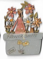 Flower Shoppe Blue 12cm