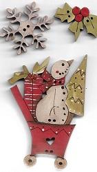 Card #10 Snowman