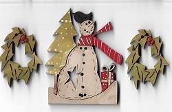 Snowman Card #3