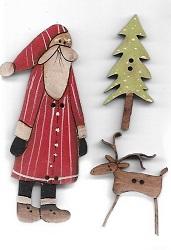 Card #9 Santa