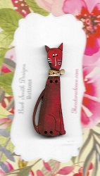 Cat Abby Red 45mm
