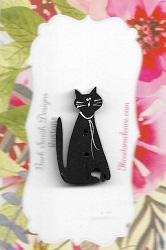 Cat Meow Black 30mm
