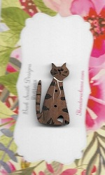 Tabby Meow cat 3cm
