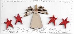 Angel Christmas Mini sampler