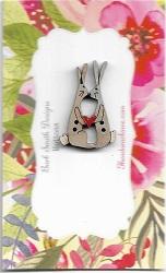 Bunny Love small 3cm Blue