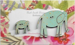 Elle Elephants Brill Blue Mum & Bub