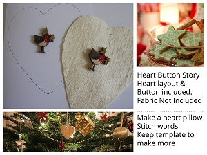 Heart (Template) Button Story