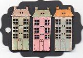 Pastel houses 6 windows