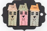 Pastel Village Houses