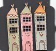 Pastel Terrace Houses set 3