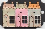 Pastel French Houses