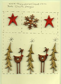 Star deers under the stars sampler
