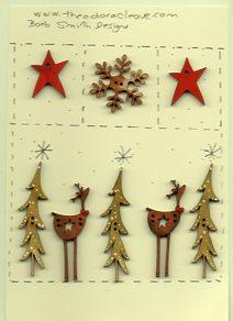 Star deers under the stars sampler