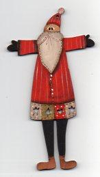 Santa Jolly Santa patchcoat Red