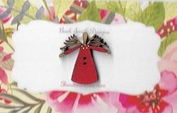 Mini Twig Angel red 25mm